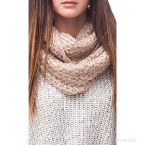 Blush Knit Infinity Scarf✨ New